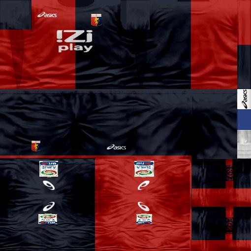 Kits by juanromanriquelme2011 - Boca Especial 2012 Genoa11-12
