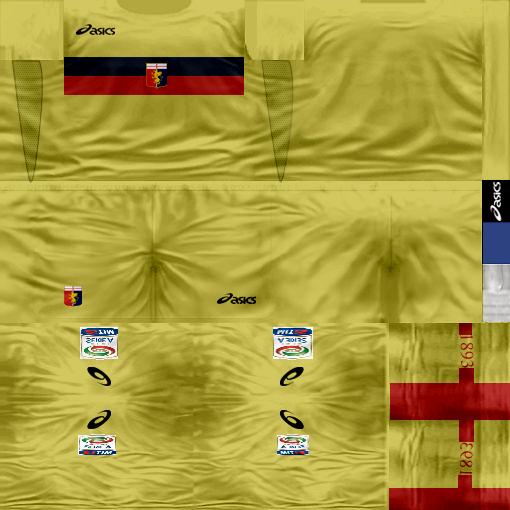 Kits by juanromanriquelme2011 - Boca Especial 2012 GenoaArquero11-12