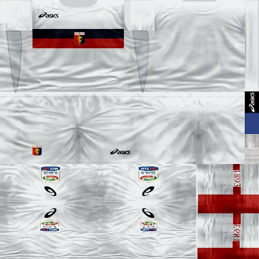 Kits by juanromanriquelme2011 - Boca Especial 2012 GenoaSuplente11-12