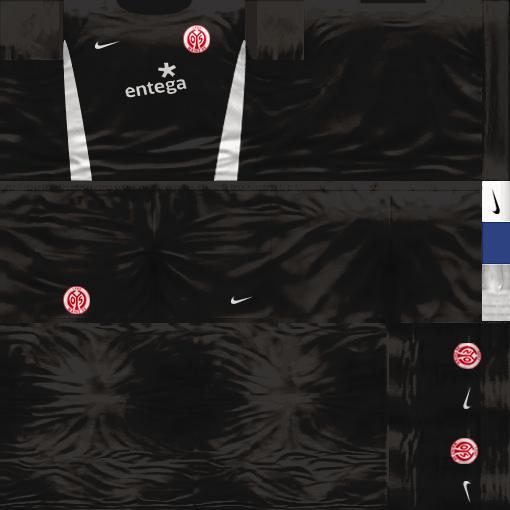 Kits by juanromanriquelme2011 - Boca Especial 2012 Mainz05Arquero11-12