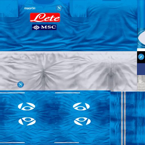 Kits by juanromanriquelme2011 - Boca Especial 2012 Napoli11-12-2