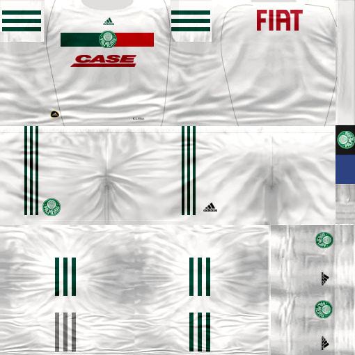 Kits by juanromanriquelme2011 - Boca Especial 2012 PalmeirasSuplente11-12