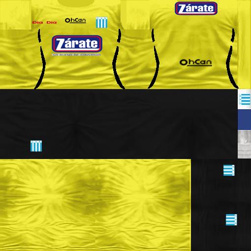 Kits by juanromanriquelme2011 - Boca Especial 2012 RacingCBAArquero11-12