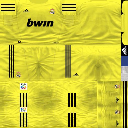 Kits by juanromanriquelme2011 - Boca Especial 2012 RealMadridArquero