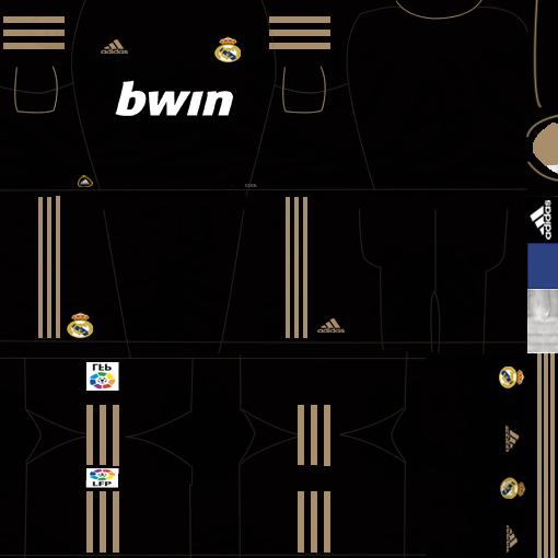 Kits by juanromanriquelme2011 - Boca Especial 2012 RealMadridSuplente