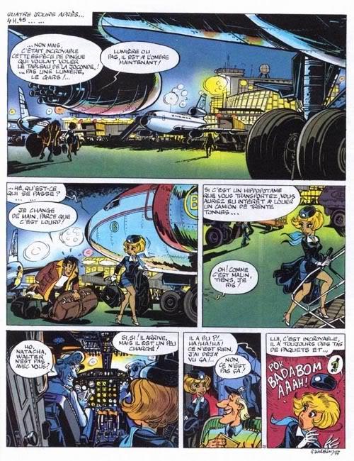 Dibujantes de Spirou secuestrados en masa! Natacha-T07-P25
