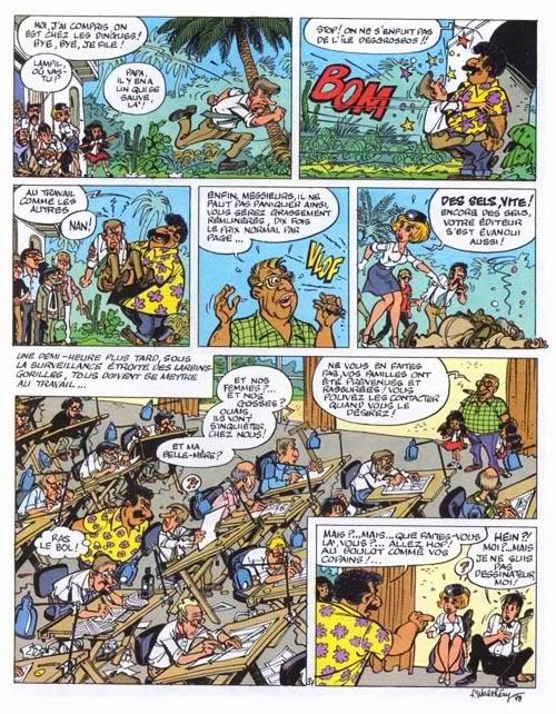 Dibujantes de Spirou secuestrados en masa! Natacha-T07-P39