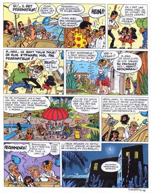 Dibujantes de Spirou secuestrados en masa! Natacha-T07-P40
