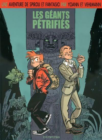 """PREVIEW: """"Spirou por..."""": Joann & Vehlmann Les Geants Petrifies 000"""