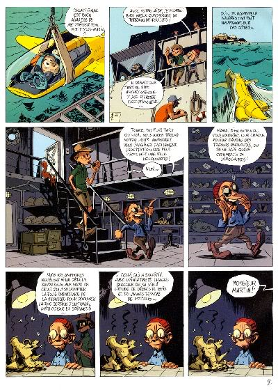 """PREVIEW: """"Spirou por..."""": Joann & Vehlmann Les Geants Petrifies 002"""