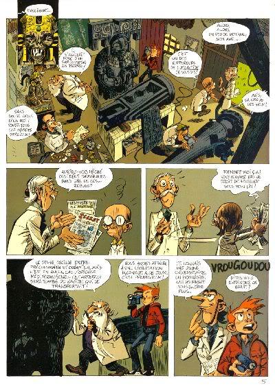 """PREVIEW: """"Spirou por..."""": Joann & Vehlmann Les Geants Petrifies 005"""