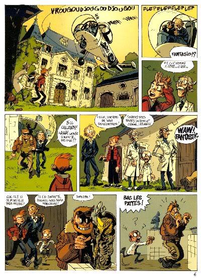 """PREVIEW: """"Spirou por..."""": Joann & Vehlmann Les Geants Petrifies 006"""