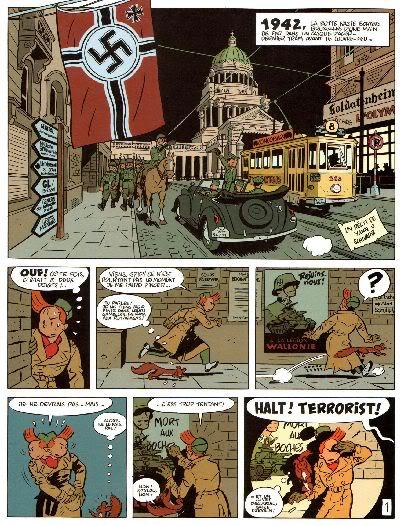 "PREVIEW: ""Spirou por..."": Yann & Schwartz - Le Groom Vert-de-Gris B005"