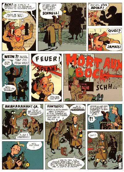 "PREVIEW: ""Spirou por..."": Yann & Schwartz - Le Groom Vert-de-Gris B006"