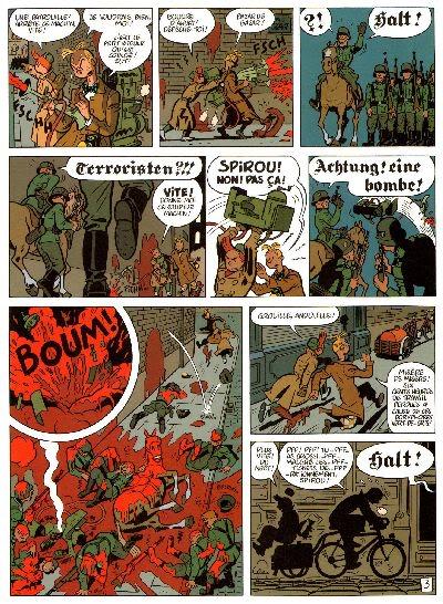 "PREVIEW: ""Spirou por..."": Yann & Schwartz - Le Groom Vert-de-Gris B007"