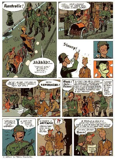 "PREVIEW: ""Spirou por..."": Yann & Schwartz - Le Groom Vert-de-Gris B008"