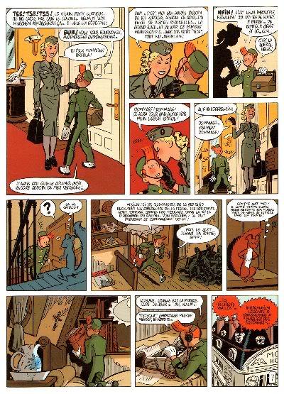 "PREVIEW: ""Spirou por..."": Yann & Schwartz - Le Groom Vert-de-Gris B011"