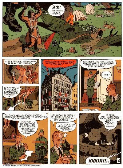 "PREVIEW: ""Spirou por..."": Yann & Schwartz - Le Groom Vert-de-Gris B014"