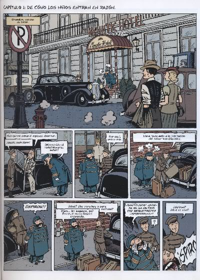 "PREVIEW: ""Spirou por..."": Emile Bravo - Diario de un Ingenuo D006"