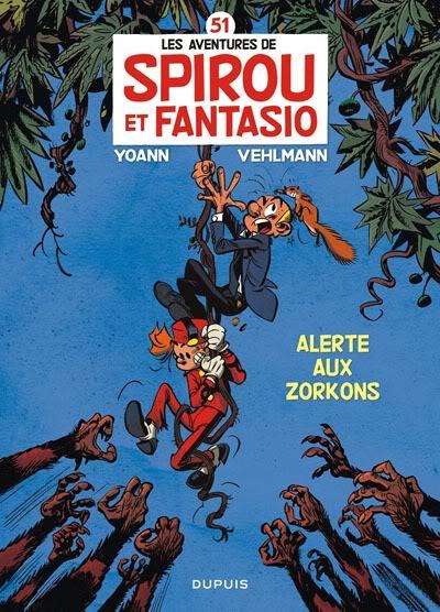 Preview: Spirou y Fantasio 51 por Vehlmann y Yoann Sp5102
