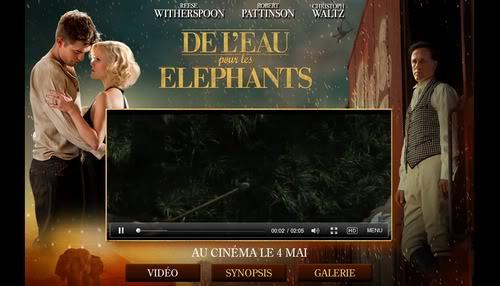 Water for Elephants: site officiel  Siteofficiel
