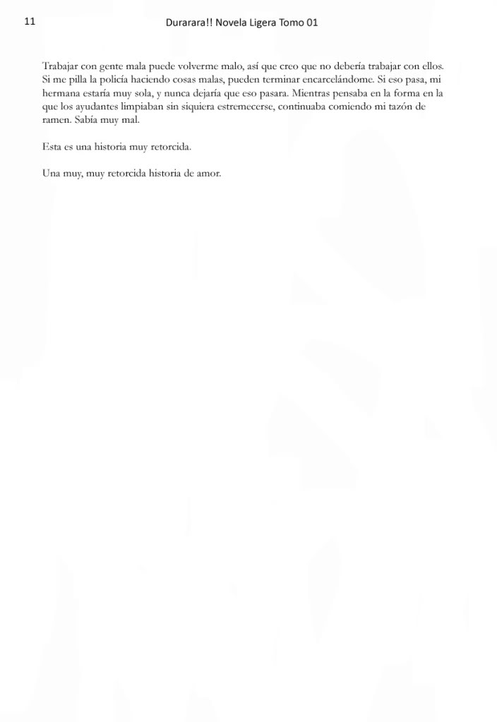 Novela de DRRR 011_Prlogo