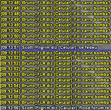 Bruno_FLA atentado na DP e FlooD Fudeuse2