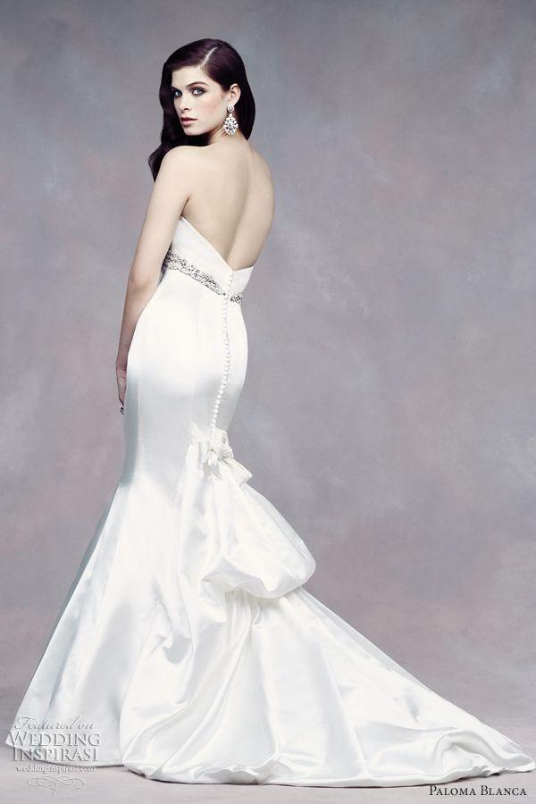 Bridal dresses new!! Empire-wedding-dresses-paloma-blanca-fall-2012-fit-n-flare