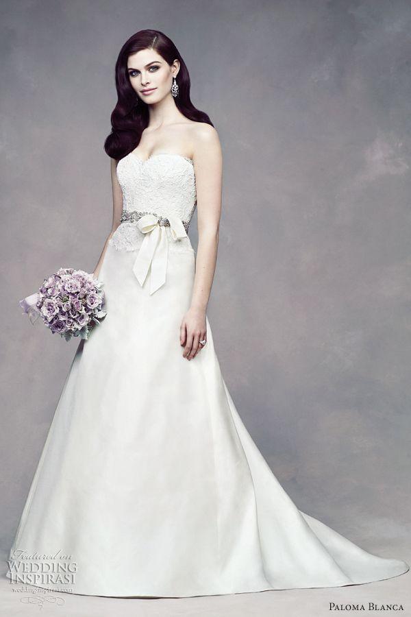 Bridal dresses new!! Paloma-blanca-fall-2012-wedding-dress-lace-a-line