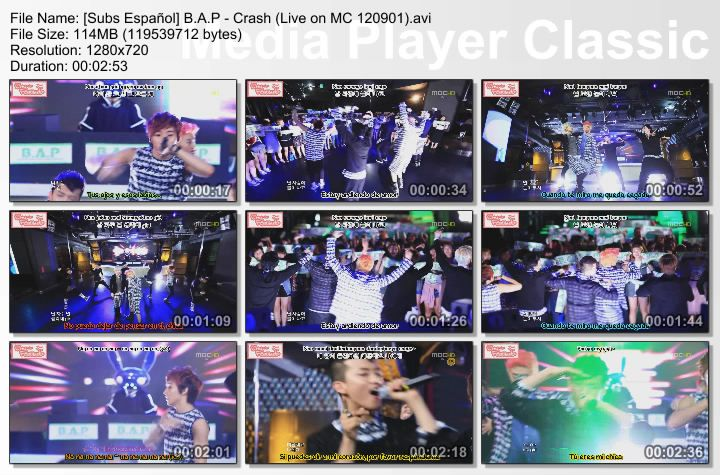 [Subs Español] B.A.P - Crash SubsEspaolBAP-CrashLiveonMC120901