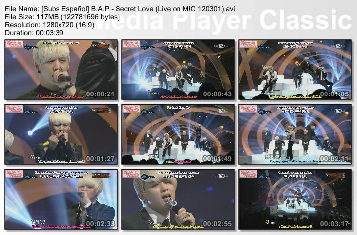 [Subs Español] B.A.P - Secret Love SubsEspaolBAP-SecretLoveLiveonMC120301