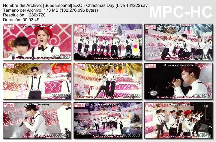 [Subs Español] EXO - Christmas Day SubsEspantildeolEXO-ChristmasDayLive131222_zps43bf90bd