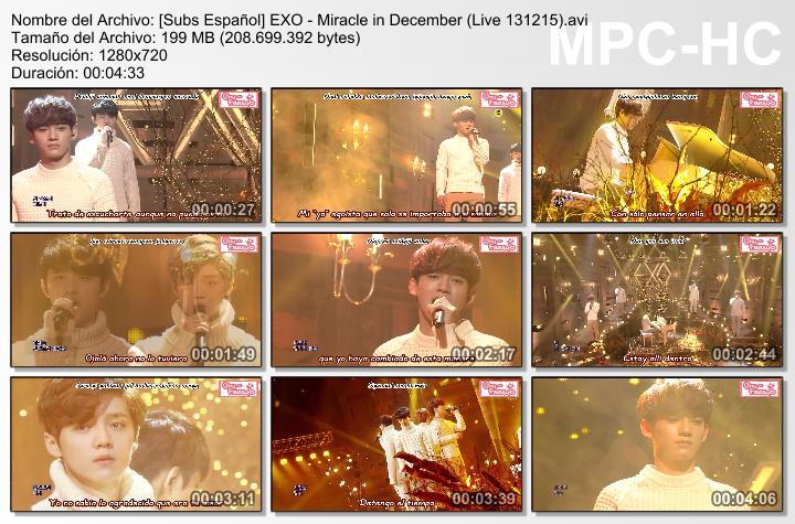 [Subs Español] EXO - Miracle in December  SubsEspantildeolEXO-MiracleinDecemberLive131215_zpsd5400009