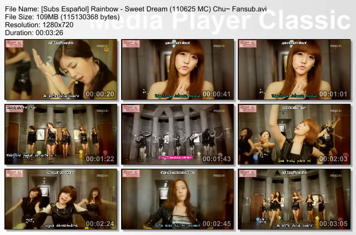 [Subs Español] Rainbow - Sweet Dream Rainbow-SweetDream
