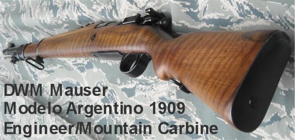 argentin - mousqueton argentin model 1909 09