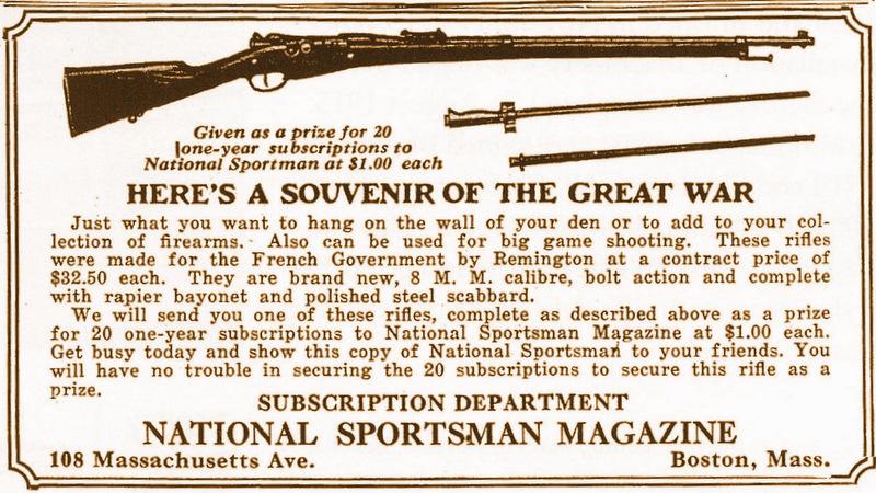 Les 1907-15 du contrat Remington B5-001