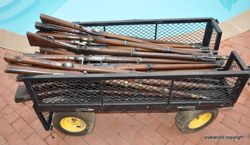24  fusils qui venaient de Kaboul. DSC_0656-1