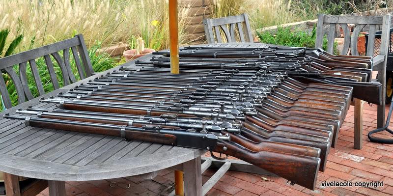 24  fusils qui venaient de Kaboul. DSC_0667-1