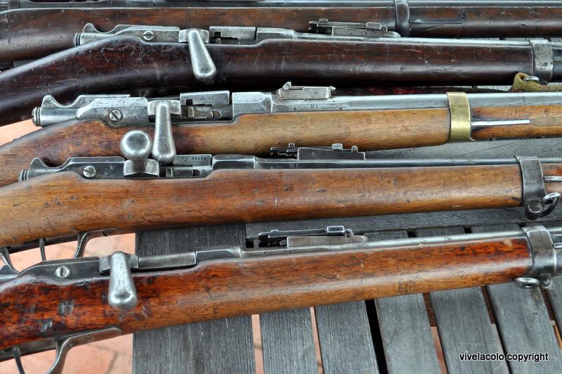 24  fusils qui venaient de Kaboul. DSC_0700-1