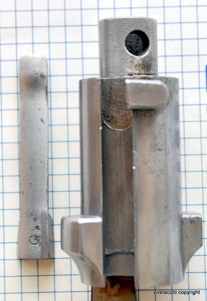 extracteur du lebel cassé au tir ce matin les boules  DSC_0920