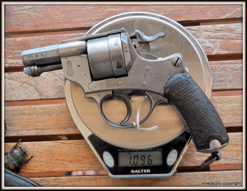 Poids du revolver 1873  DSC_0061
