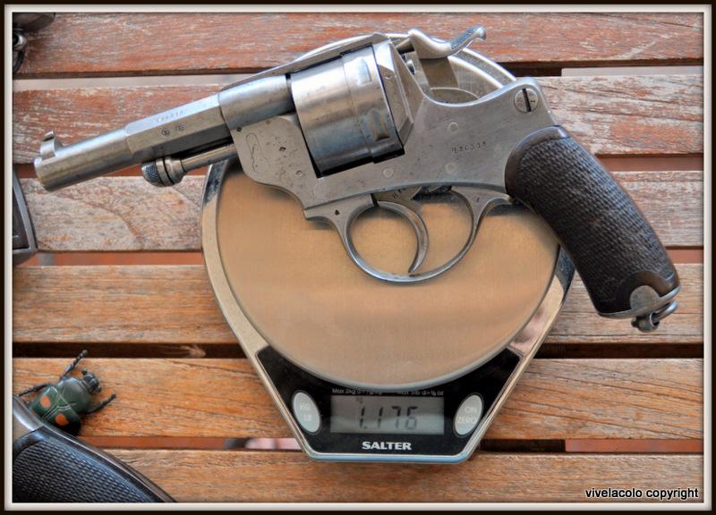 Poids du revolver 1873  DSC_0067