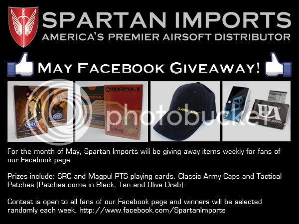 Spartan Imports Facebook Giveaway!!! Spartan_Facebook