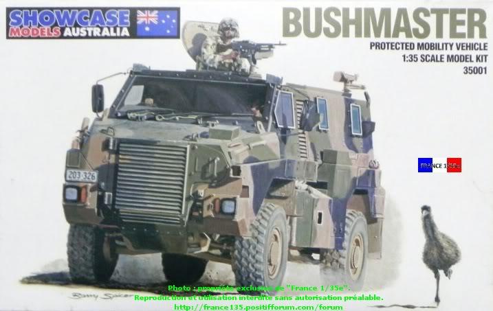 """""""Bushmaster"""". Showcase Models Australia, 1/35, ref 35001. Plastique injecté et photodécoupe. BUSHMASTER_1-35_SHOWCASE001"""