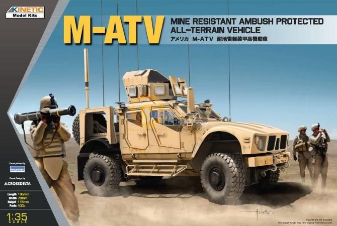 M-ATV MRAP, Kinetic & Panda Hobby. 1/35. KINETIC