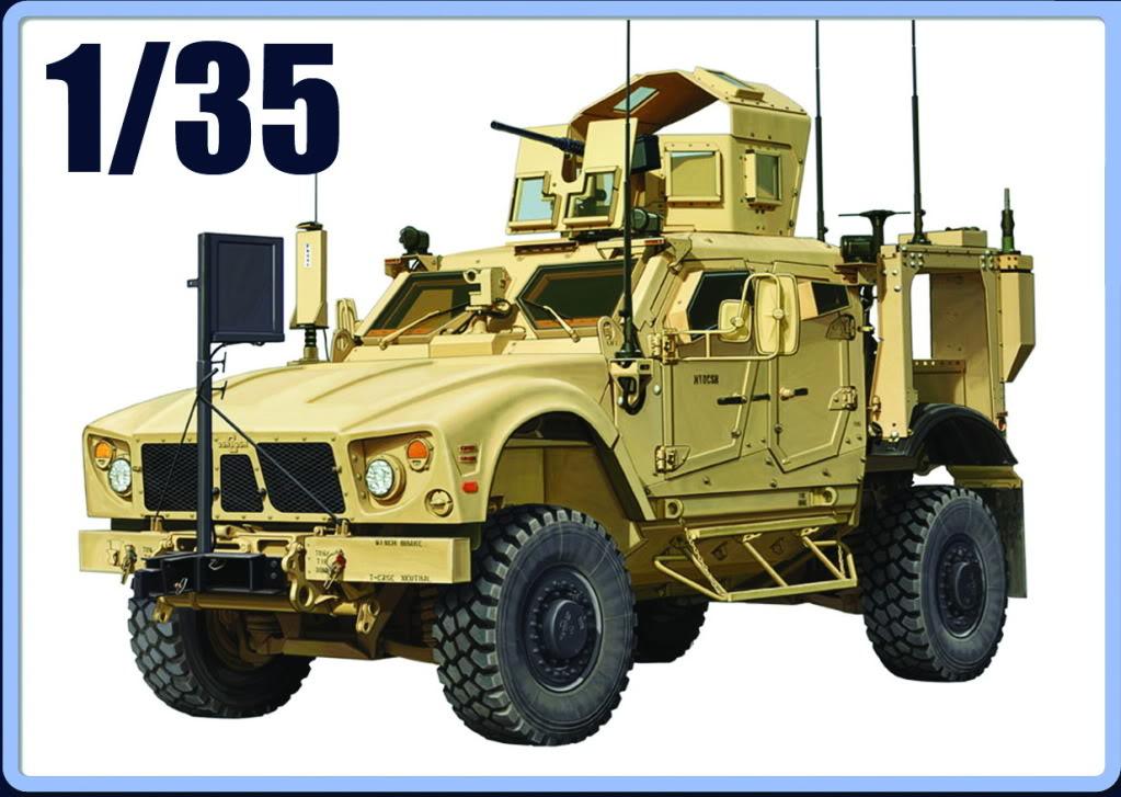 M-ATV MRAP, Kinetic & Panda Hobby. 1/35. M-ATVcoverPANDA