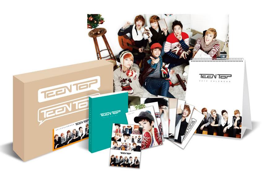 [Предзаказ]Официальный Календарь с Teen Top на 2012 год! 280f5d01