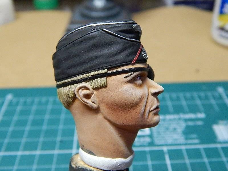 Panzer Officer - Verlinden - Busto 200mm 123