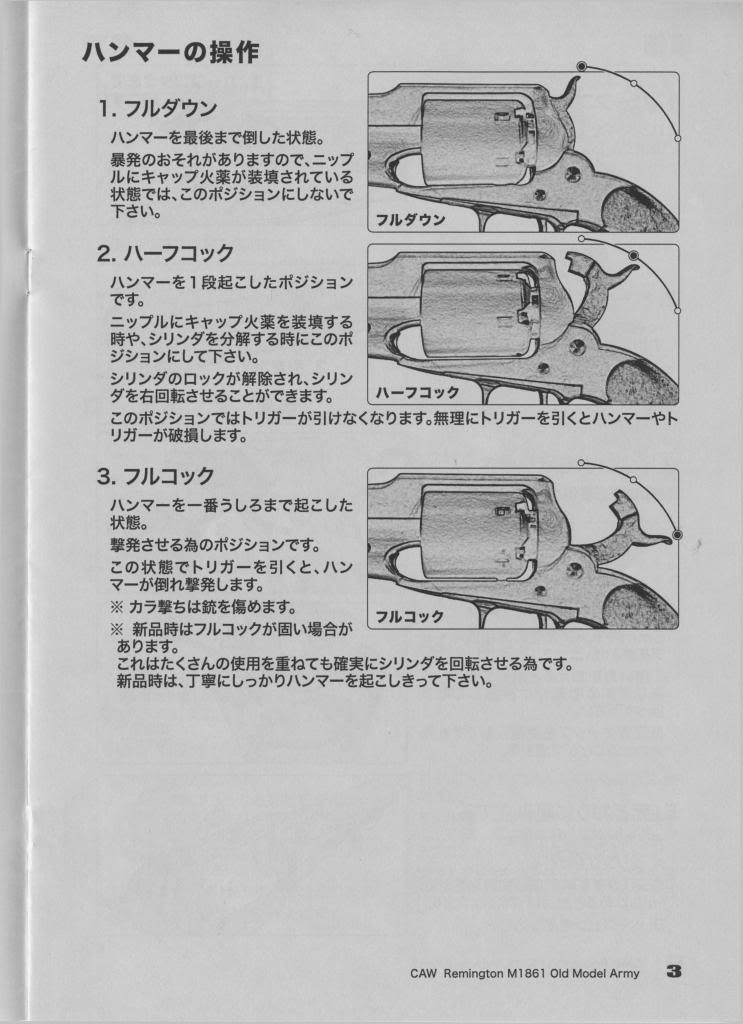 CAW Old Model Army Percussion Revolver Page3