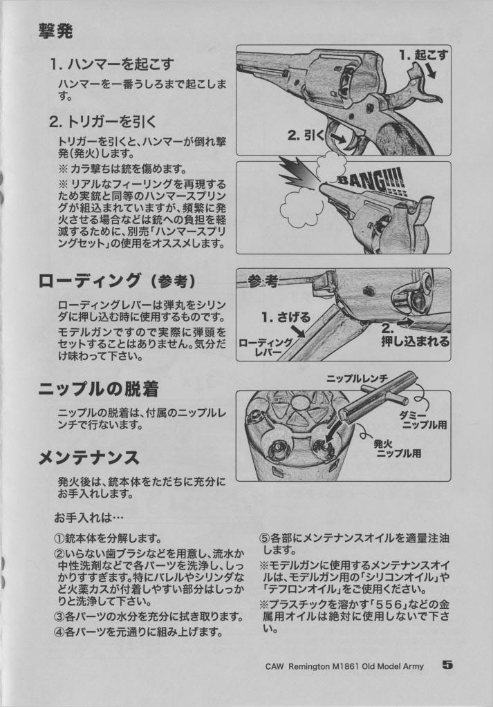 CAW Old Model Army Percussion Revolver Page5